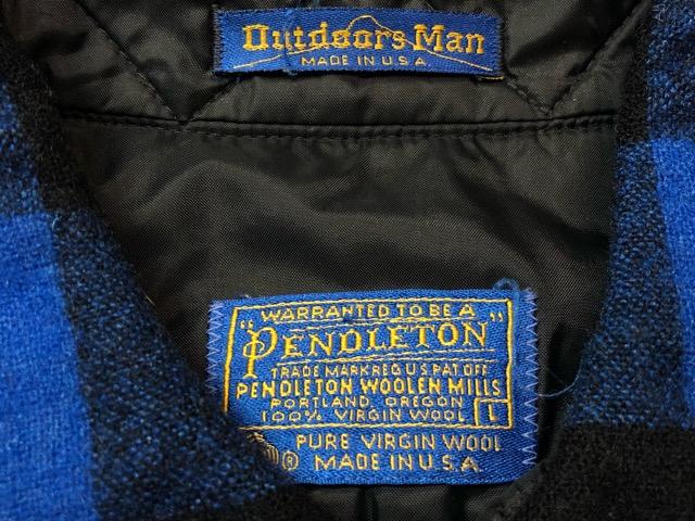 10月5日(土)大阪店、冬物スーペリア入荷!!#7 Pendleton編! TweedJKT & HuntingJKT ,WoolPlaidShirt!!_c0078587_16223087.jpg