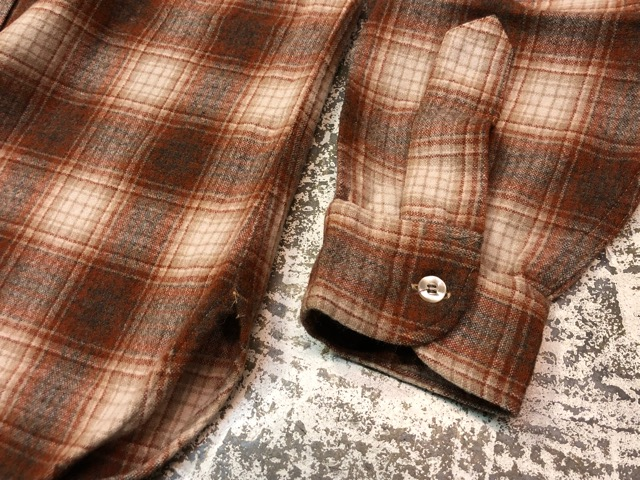 10月5日(土)大阪店、冬物スーペリア入荷!!#7 Pendleton編! TweedJKT & HuntingJKT ,WoolPlaidShirt!!_c0078587_1626821.jpg