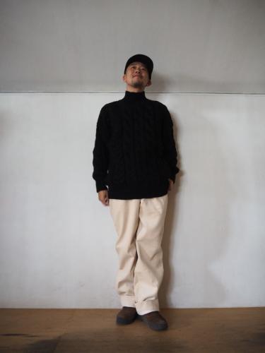 LENO Big Cable Sweater_e0357389_14293817.jpg