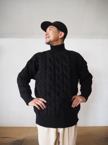 LENO Big Cable Sweater_e0357389_14293841.jpg