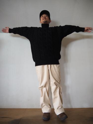 LENO Big Cable Sweater_e0357389_14293882.jpg