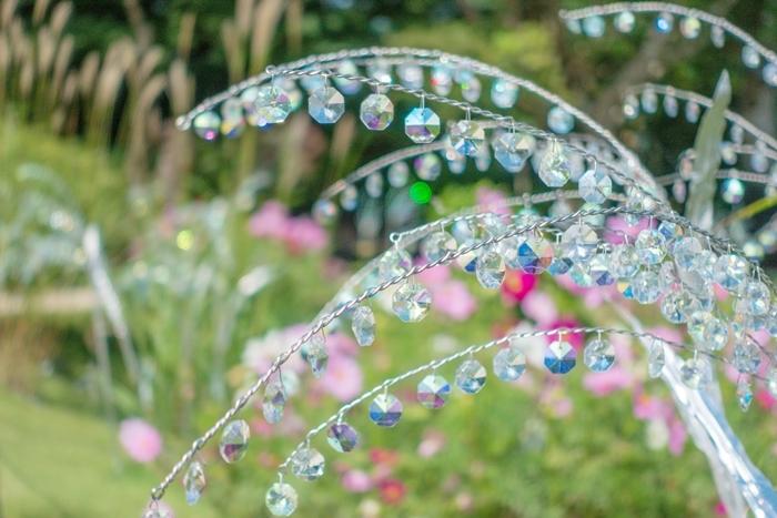 秋の箱根ガラスの森美術館 ススキとクリスタルガラスのススキの競演_b0145398_23550326.jpg