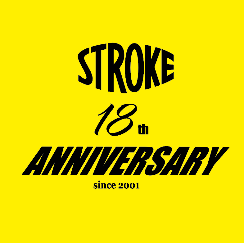 STROKE. 18th Anniversary TEE_d0101000_11531085.png