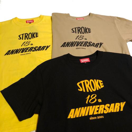 STROKE. 18th Anniversary TEE_d0101000_11531229.jpg