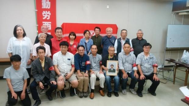 9月29日、広島市内で、動労西日本再建10周年記念レセプションを開催しました_d0155415_19395085.jpg