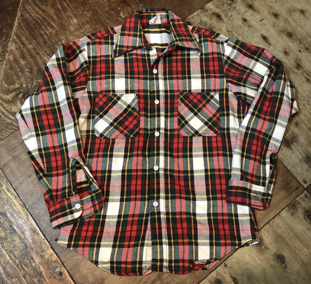 10/5(土)入荷!70s BIG MAC ネルシャツ サイズS _c0144020_16494840.jpg