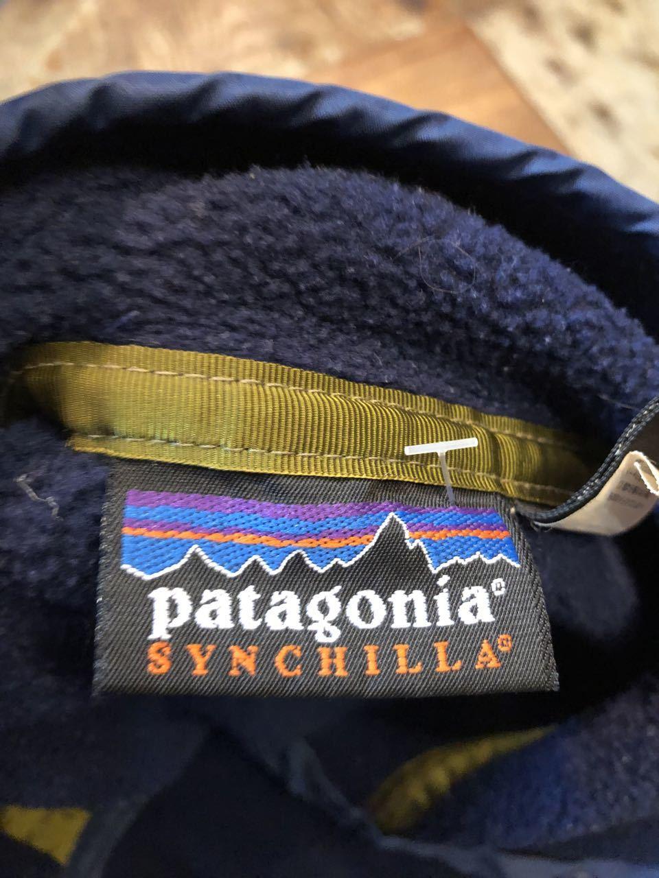 10/5(土)入荷!98年 MADE IN U.S.A パタゴニア シンチラ PATAGONIA スナップT_c0144020_16583869.jpg