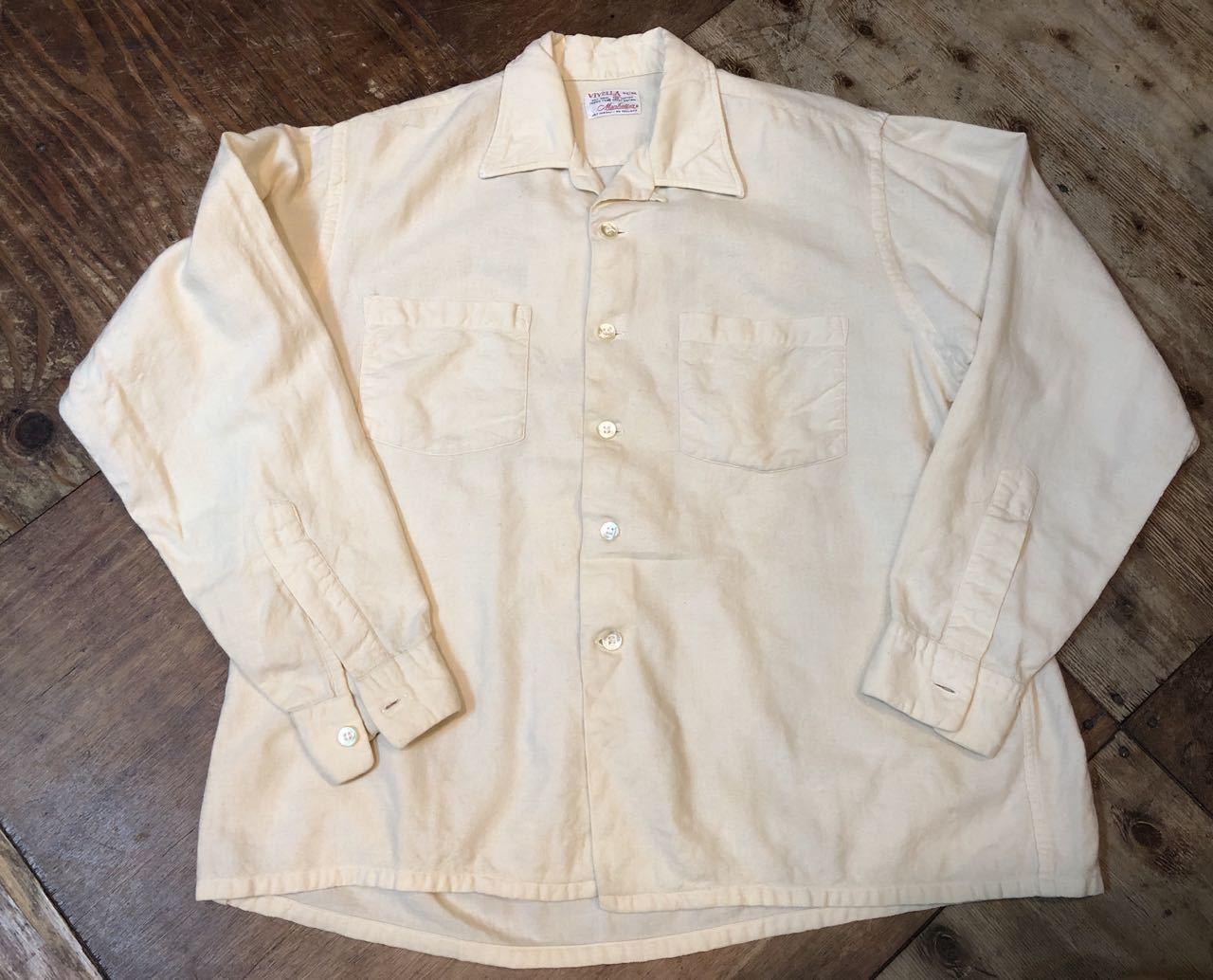 10/5(土)入荷!60s Manhattan オープンカラーシャツ!_c0144020_17072644.jpg