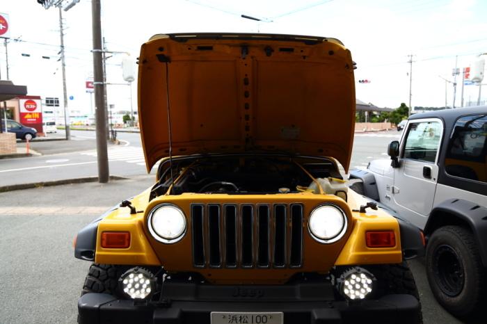 カスタムでお預かりのTJやご納車準備完了のスペーシアギアなど_f0105425_18023403.jpg
