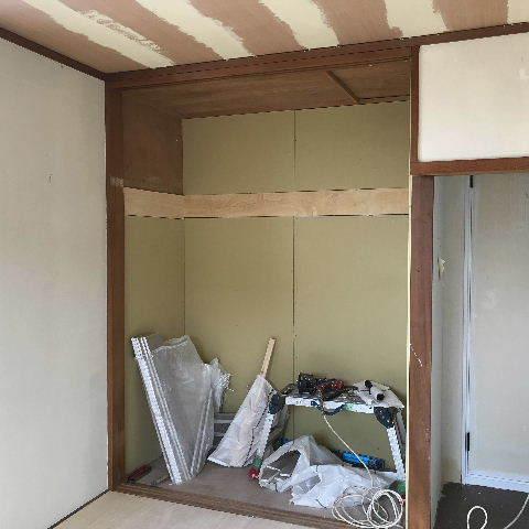 7日め 塗装・パテ・床・浴室解体_f0031037_19555378.jpg