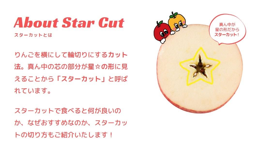 """新しいりんごの食べ方""""スターカット""""&注目の栄養素""""プロシアニジン""""_b0171839_10201952.jpg"""