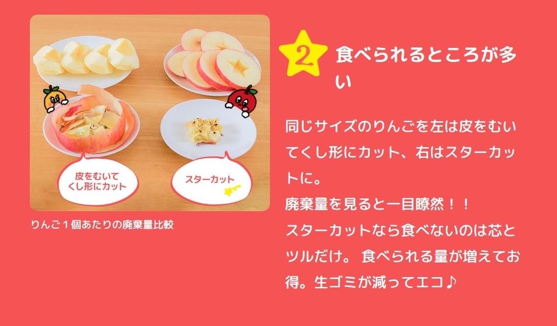 """新しいりんごの食べ方""""スターカット""""&注目の栄養素""""プロシアニジン""""_b0171839_10205212.jpg"""