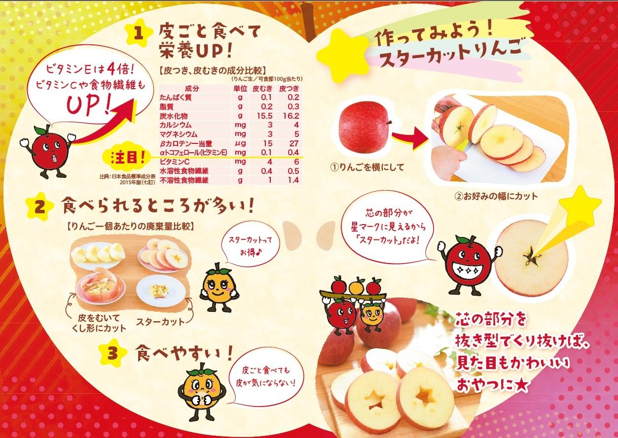 """新しいりんごの食べ方""""スターカット""""&注目の栄養素""""プロシアニジン""""_b0171839_13214730.jpg"""