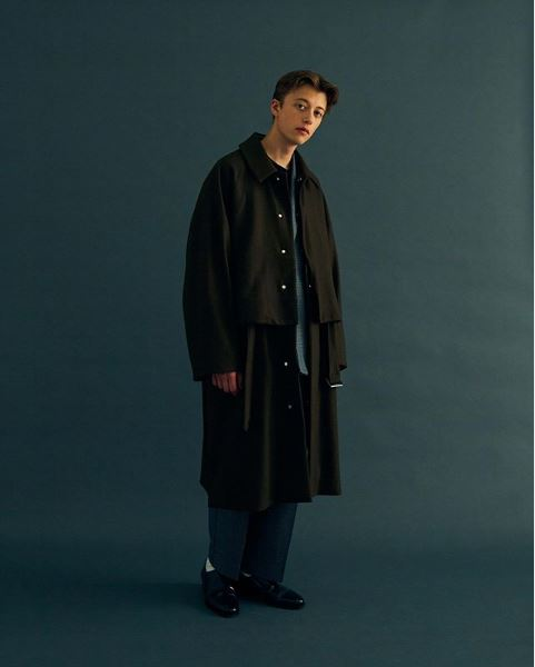 YOKE AUTUMN WINTER 2019 COLLECTION look Ⅱ_e0171446_1501126.jpg