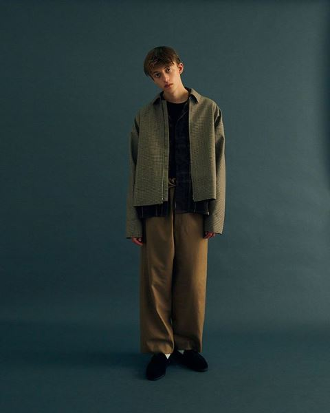 YOKE AUTUMN WINTER 2019 COLLECTION look Ⅱ_e0171446_1511317.jpg