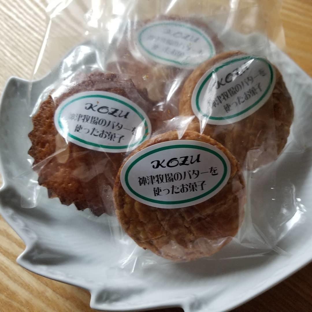 下仁田・菓匠 嶋屋 * 神津牧場のバターを使ったおやつ ~ ピザーラで夜お茶♪_f0236260_18053463.jpg
