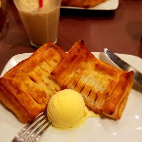 下仁田・菓匠 嶋屋 * 神津牧場のバターを使ったおやつ ~ ピザーラで夜お茶♪_f0236260_18102548.jpg