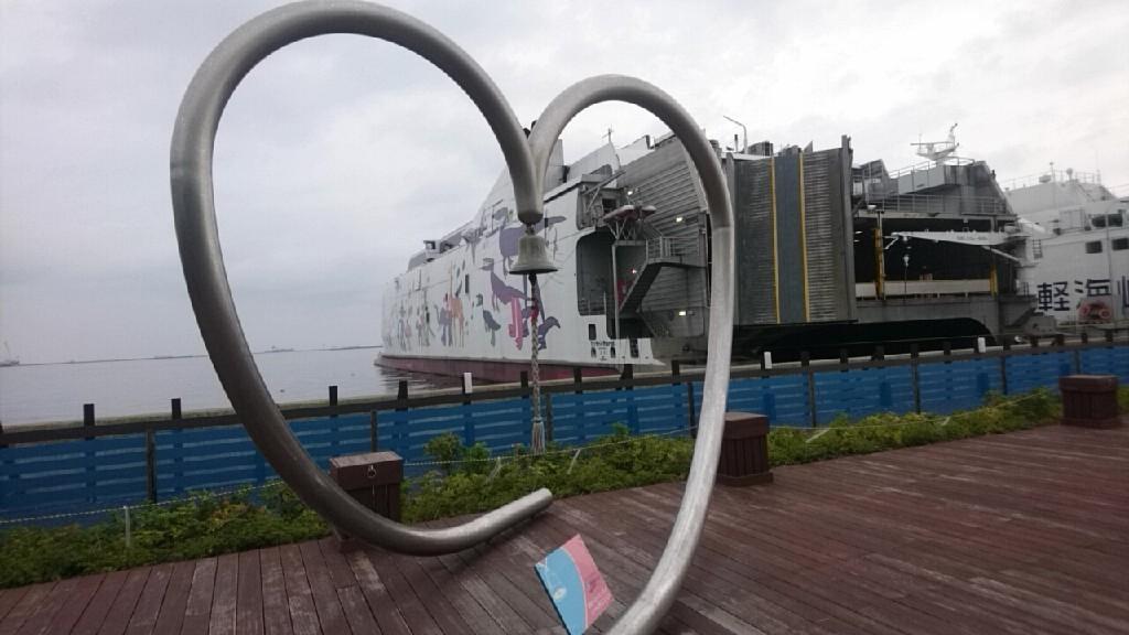 津軽海峡フェリー函館ターミナル、売店にセラピア製品あります。いか姫が人気!_b0106766_16050099.jpg