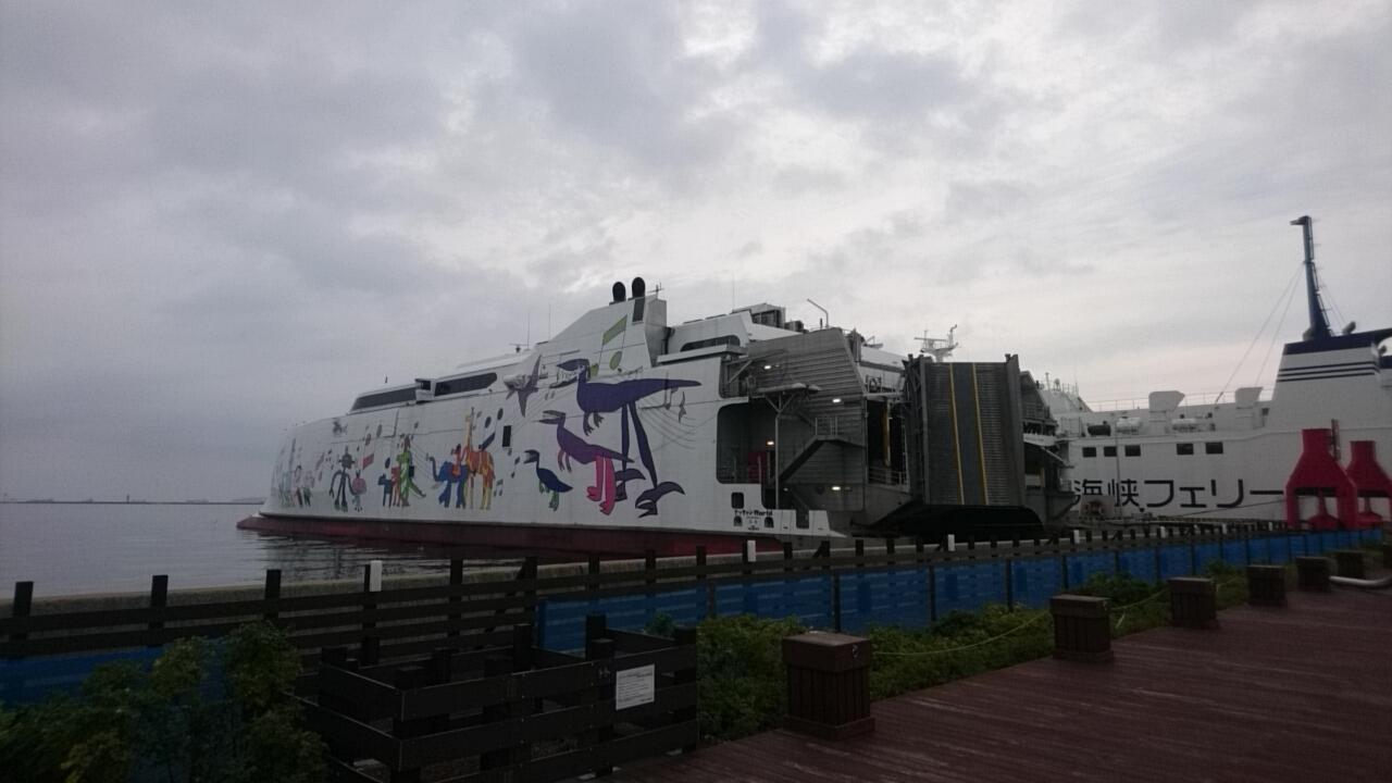 津軽海峡フェリー函館ターミナル、売店にセラピア製品あります。いか姫が人気!_b0106766_16073247.jpg