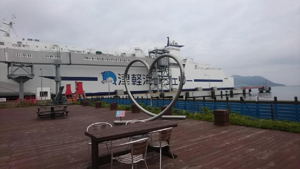 津軽海峡フェリー函館ターミナル、売店にセラピア製品あります。いか姫が人気!_b0106766_16073325.jpg