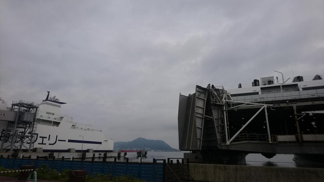 津軽海峡フェリー函館ターミナル、売店にセラピア製品あります。いか姫が人気!_b0106766_16073394.jpg