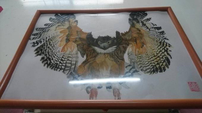 鶏の絵_b0106766_20342381.jpg