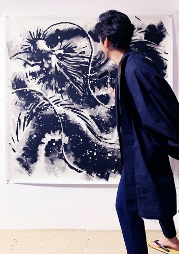 Takeshi Sato ローラーアートの世界2019 Vol2_a0131787_17555341.jpg