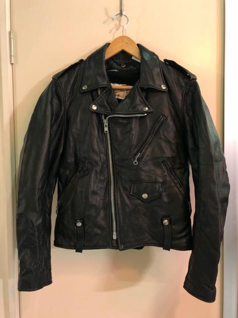 10月5日(土)大阪店、冬物スーペリア入荷!!#9 LeatherJkt編! Schott Perfect & Brooks ,HARLEY-DAVIDSON ,Policeman!!_c0078587_17283147.jpg