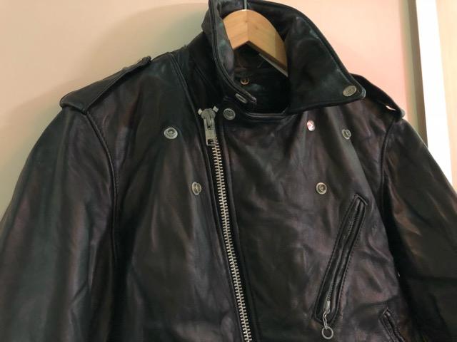 10月5日(土)大阪店、冬物スーペリア入荷!!#9 LeatherJkt編! Schott Perfect & Brooks ,HARLEY-DAVIDSON ,Policeman!!_c0078587_17292952.jpg