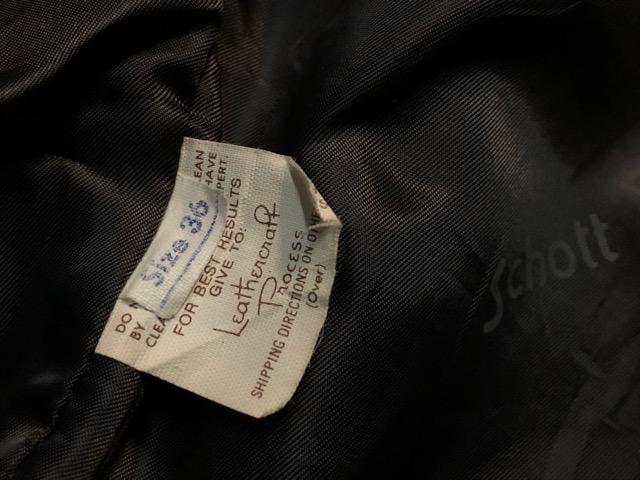 10月5日(土)大阪店、冬物スーペリア入荷!!#9 LeatherJkt編! Schott Perfect & Brooks ,HARLEY-DAVIDSON ,Policeman!!_c0078587_183333.jpg