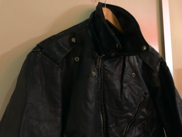 10月5日(土)大阪店、冬物スーペリア入荷!!#9 LeatherJkt編! Schott Perfect & Brooks ,HARLEY-DAVIDSON ,Policeman!!_c0078587_20175015.jpg