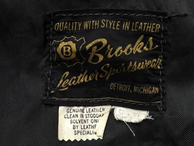 10月5日(土)大阪店、冬物スーペリア入荷!!#9 LeatherJkt編! Schott Perfect & Brooks ,HARLEY-DAVIDSON ,Policeman!!_c0078587_20262094.jpg