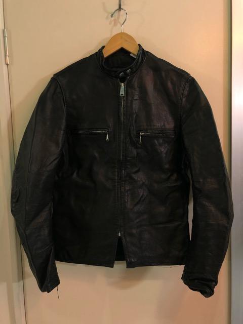 10月5日(土)大阪店、冬物スーペリア入荷!!#9 LeatherJkt編! Schott Perfect & Brooks ,HARLEY-DAVIDSON ,Policeman!!_c0078587_202651.jpg