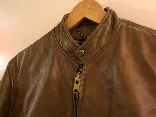 10月5日(土)大阪店、冬物スーペリア入荷!!#9 LeatherJkt編! Schott Perfect & Brooks ,HARLEY-DAVIDSON ,Policeman!!_c0078587_20322270.jpg