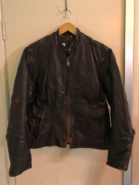 10月5日(土)大阪店、冬物スーペリア入荷!!#9 LeatherJkt編! Schott Perfect & Brooks ,HARLEY-DAVIDSON ,Policeman!!_c0078587_20325830.jpg