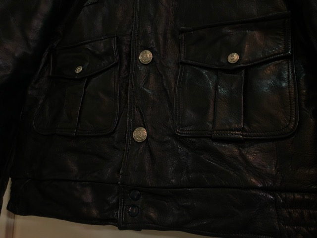 10月5日(土)大阪店、冬物スーペリア入荷!!#9 LeatherJkt編! Schott Perfect & Brooks ,HARLEY-DAVIDSON ,Policeman!!_c0078587_20355141.jpg