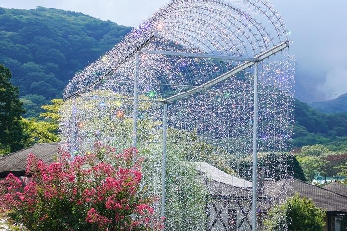 秋の箱根ガラスの森美術館 SONY RX100M5で撮るクリスタルガラスの輝き_b0145398_19190898.jpg