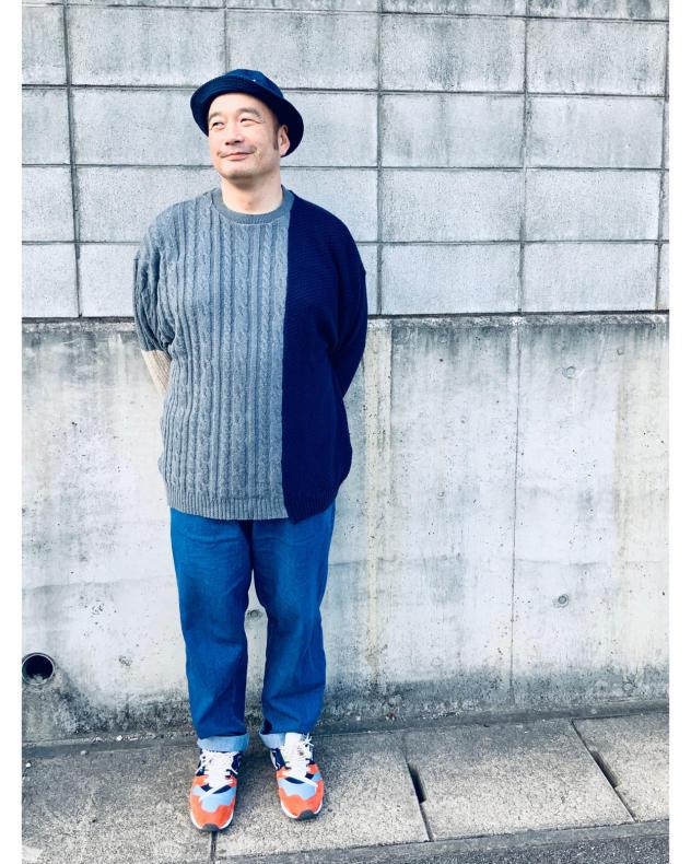 【THE PARK SHOP】MULTI  BOY KNIT (UNISEX)_d0000298_16515318.jpg