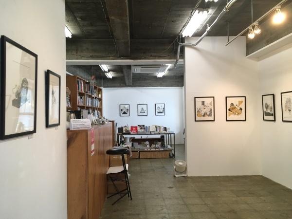 アミーンの新作展「My Iranian Lions」大阪のCalo bookshop & cafeで開催中!(10/19まで)_e0091706_08423677.jpg