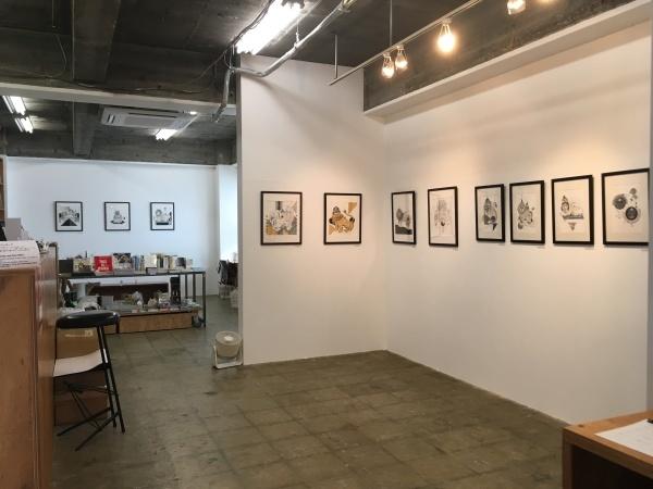 アミーンの新作展「My Iranian Lions」大阪のCalo bookshop & cafeで開催中!(10/19まで)_e0091706_08423804.jpg