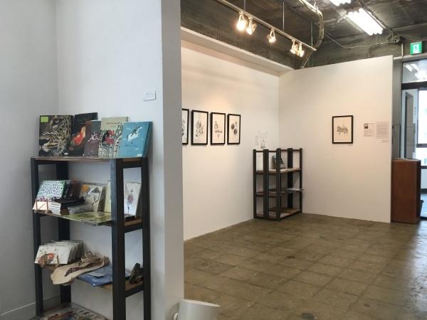 アミーンの新作展「My Iranian Lions」大阪のCalo bookshop & cafeで開催中!(10/19まで)_e0091706_08423861.jpg