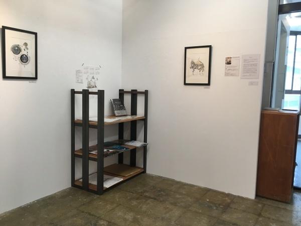 アミーンの新作展「My Iranian Lions」大阪のCalo bookshop & cafeで開催中!(10/19まで)_e0091706_09044488.jpg