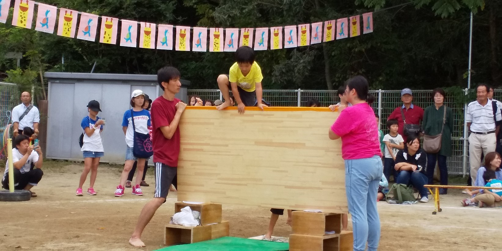 🌞 運動会だ🎵チャッチャチャチャー🎵保育所も幼稚園も認定こども園も🎵どの子も健やかに大きくなあれ🌞_f0061067_14482946.jpg