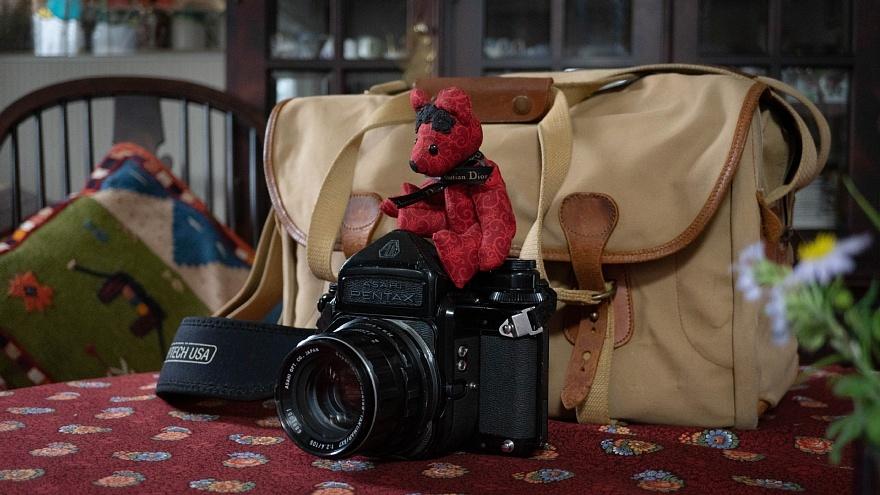 テディベアは見た・・・古き良き英国製カメラバッグ_d0353489_15273463.jpg