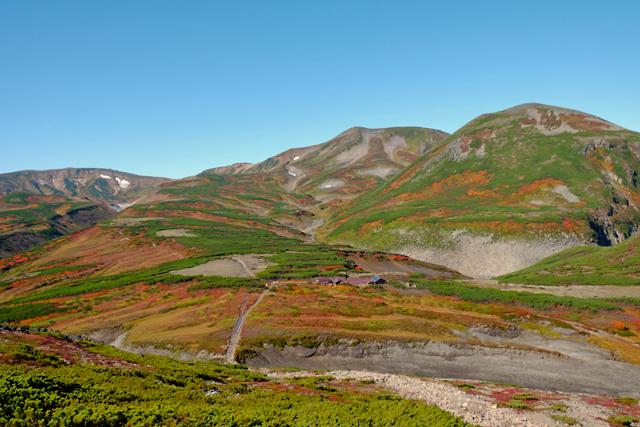黒岳の紅葉♪ 山頂~お鉢平_f0179404_20080728.jpg