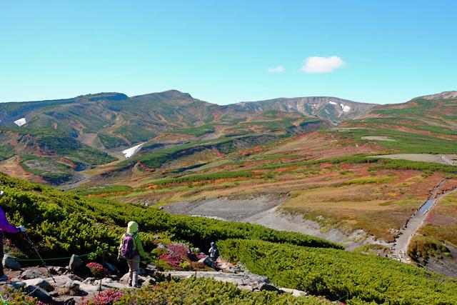 黒岳の紅葉♪ 山頂~お鉢平_f0179404_20081877.jpg