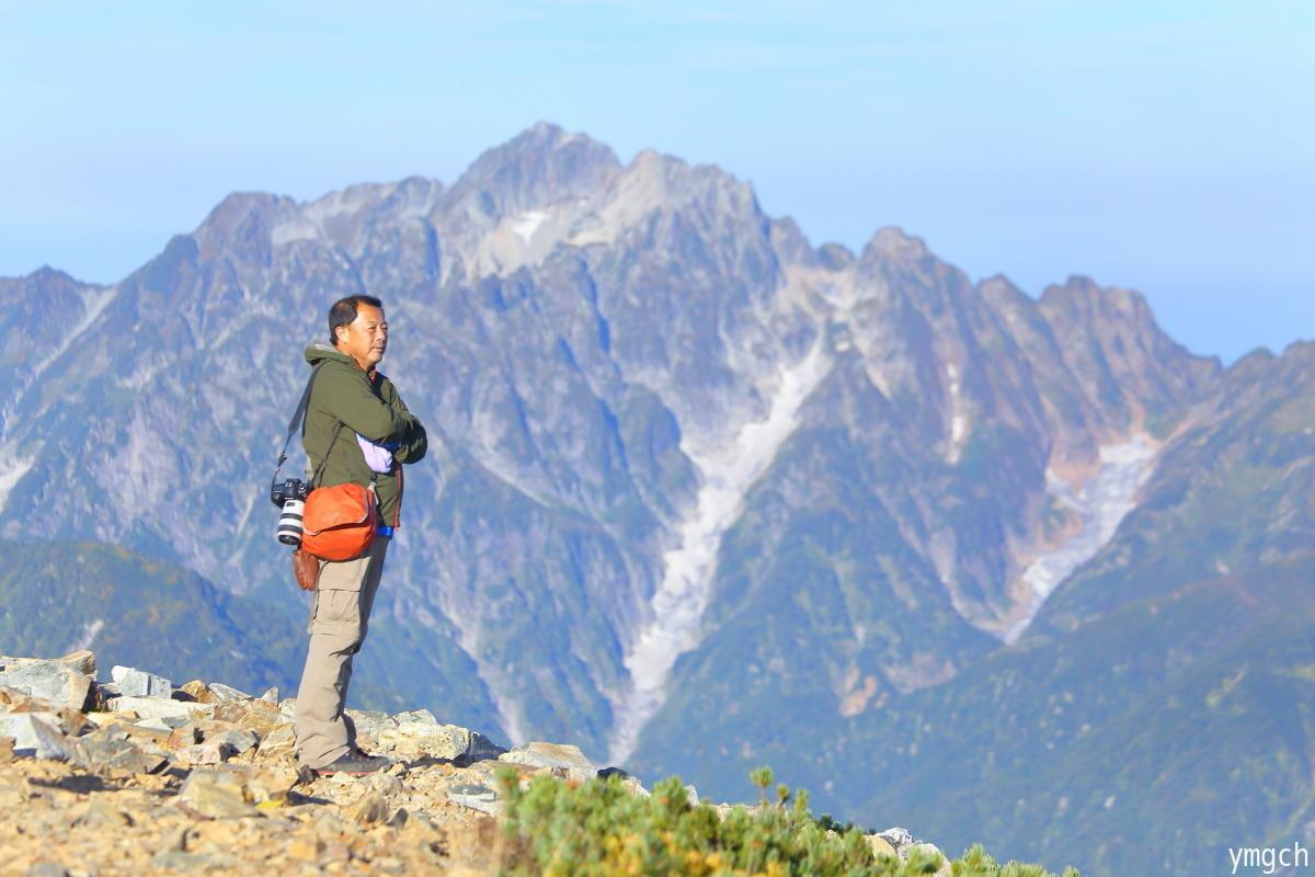 秋山シーズ到来!北アルプスの稜線へ (鹿島槍ヶ岳2)_f0157812_08100890.jpg