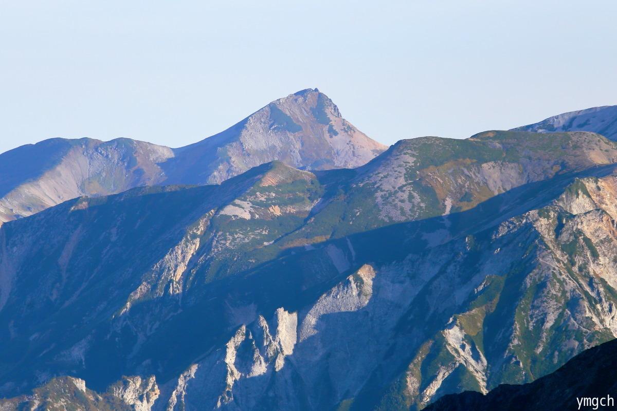 秋山シーズ到来!北アルプスの稜線へ (鹿島槍ヶ岳2)_f0157812_08101915.jpg
