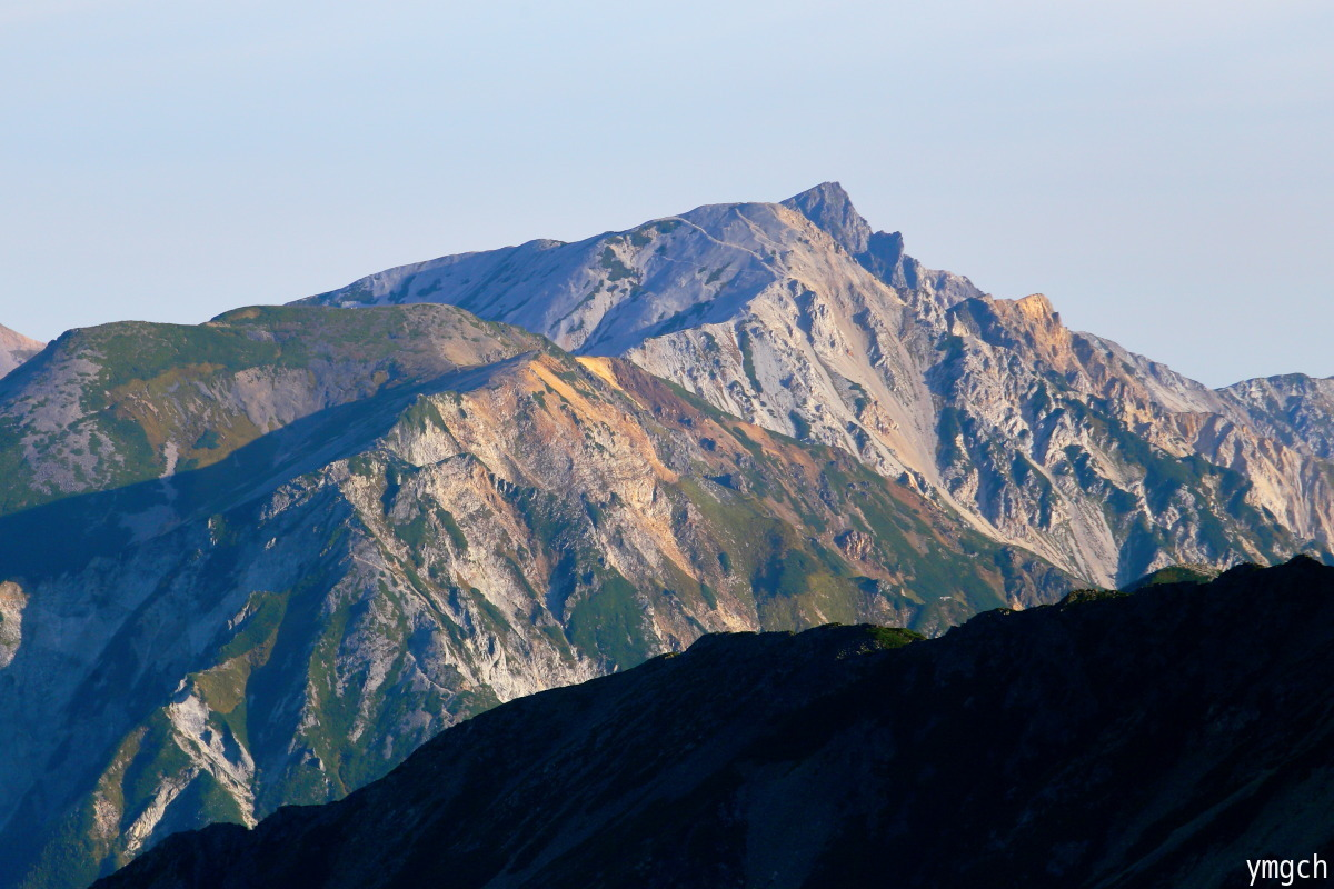 秋山シーズ到来!北アルプスの稜線へ (鹿島槍ヶ岳2)_f0157812_08101926.jpg