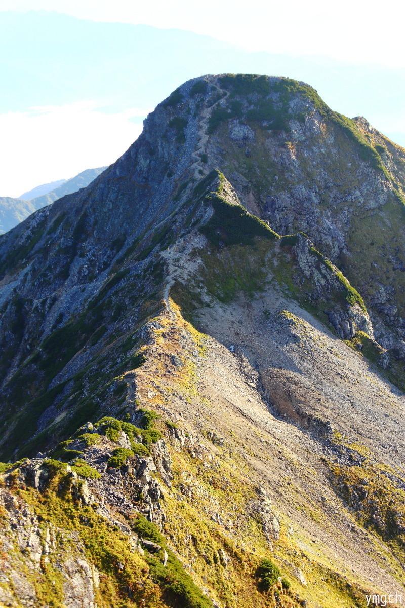 秋山シーズ到来!北アルプスの稜線へ (鹿島槍ヶ岳2)_f0157812_08102087.jpg
